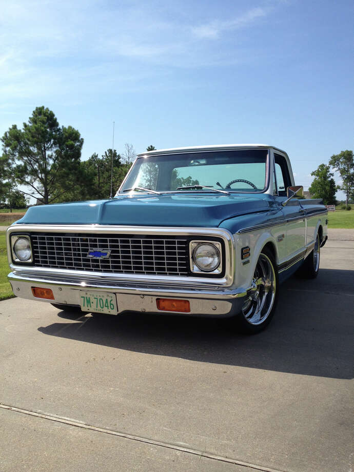 Gearhead John Carpenter completed the off-frame renovation of this 1972 Chevy pickup in 2010.