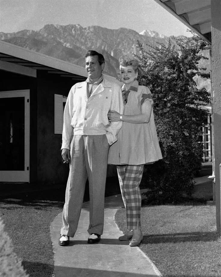 Lucille Ball and Desi ArnazWho doesn't love Lucy? Desi Arnaz, the Cuban-born entertainer who played Lucille Ball's husband on the iconic TV show 'I Love Lucy' was also her husband in real life.   Photo: CBS Photo Archive, Getty Images / 2005 CBS WORLDWIDE INC.