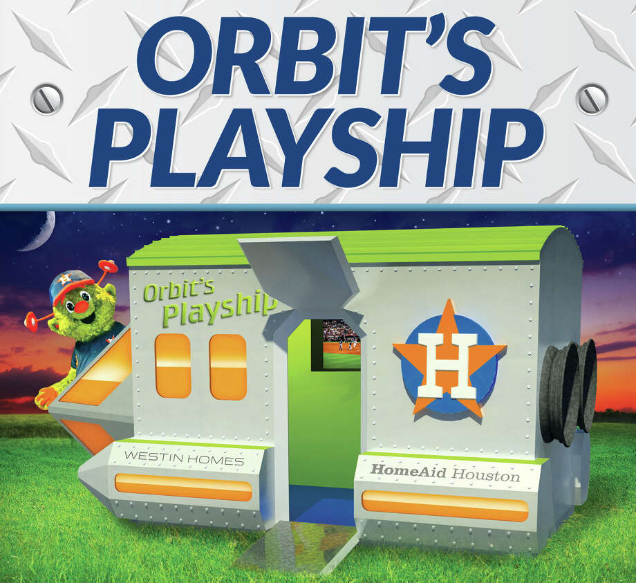 Partnering with Westin Homes, the Houston Astros and the Astros Foundation, HomeAid Houston has constructed a playhouse that salutes the Astros' new mascot, Orbit.