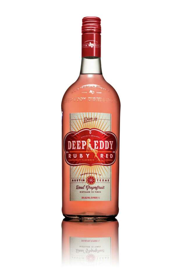 Let s go deep in the heart of Texas to the Deep Eddy vodka makers in Austin who have come up with a flavored vodka near and tear to the Lone Star State heart. Deep Eddy Ruby Red sports the refreshing taste of red grapefruit. Perfect served on the rocks, mixed with champagne or in any other summer cocktail that whets your whistle; $18.99. Photo: Deep Eddy / Deep Eddy