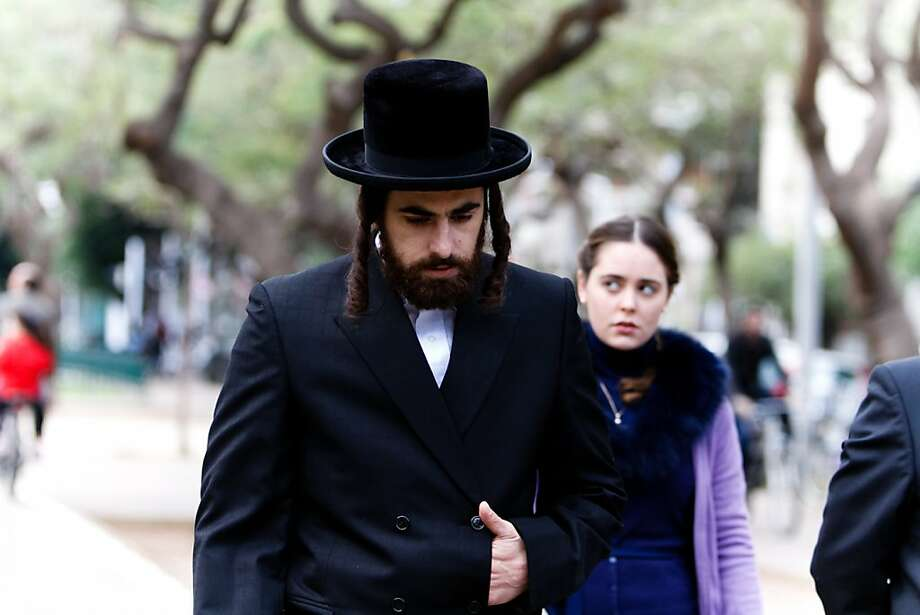 "Hadas Yaron (right) is called on to marry her sister's widower, played by Yiftach Klein, in the Israeli film ""Fill the Void."" Photo: Karin Bar, Sony Pictures Classics"
