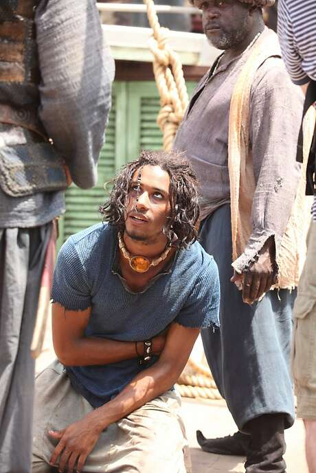Elliot Knight is attractive and believable as Sinbad. Photo: Syfy