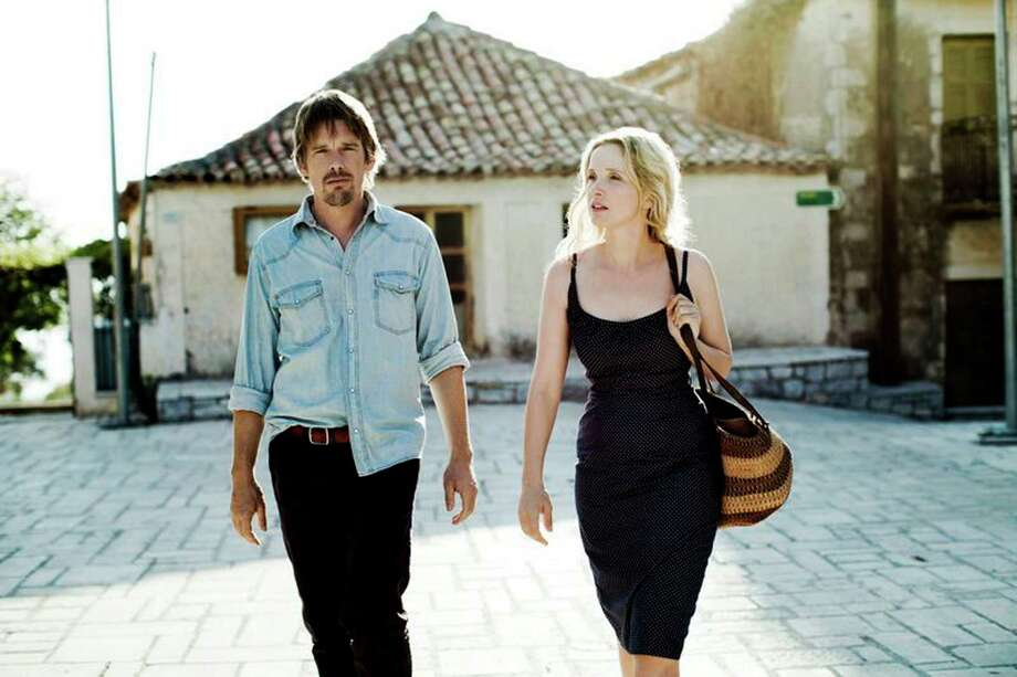 """Ethan Hawke and Julie Delpy star in """"Before Midnight."""" Photo: Despina Spyrou, HONS -end- / Sony Pictures Classice"""