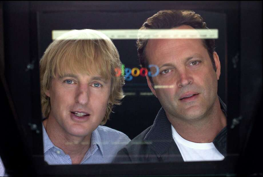 "Owen Wilson (left) and Vince Vaughn portray interns at Google who try to snag jobs in a supercompetitive environment in ""The Internship."" Photo: 20th Century Fox"