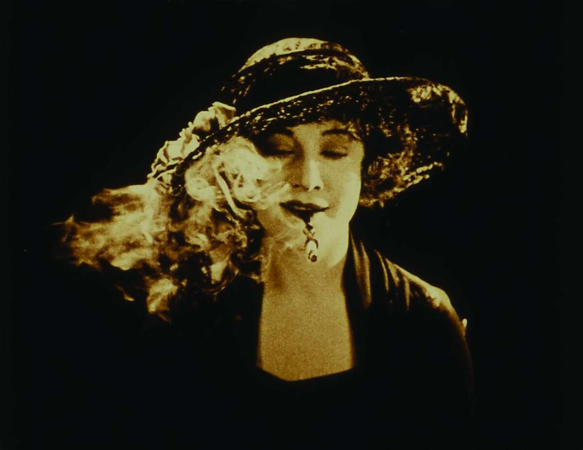 """A screen shot from the 1924 film """"The White Shadow"""" by Alfred Hitchcock. This is one of the long-lost films that are being resurrected by the San Francisco-based National Film Preservation Foundation. The films had been found in New Zealand."""