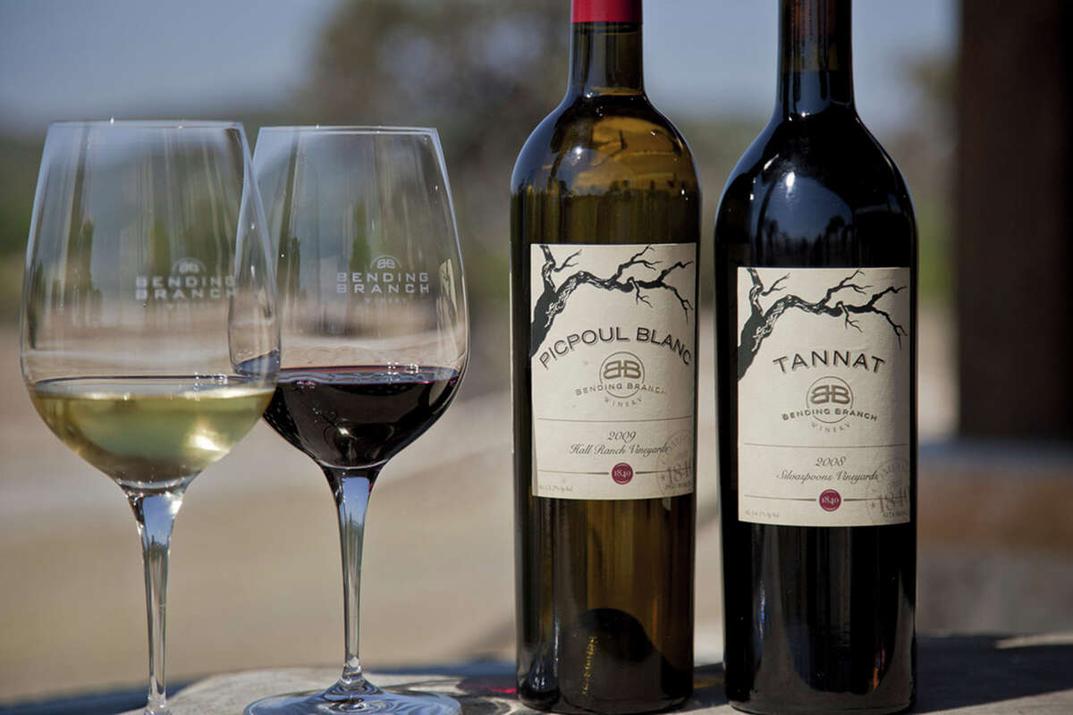 Bending Branch winery in Comfort produces Picpoul Blanc and Tannat wines. Courtesy Hammel Photography