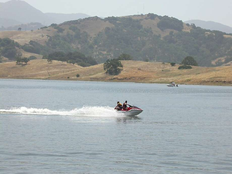 Calero Reservoir in Santa Clara County is a popular lake in the Bay Area for many types of watercraft, personal and larger. Photo: Tom Stienstra, The Chronicle