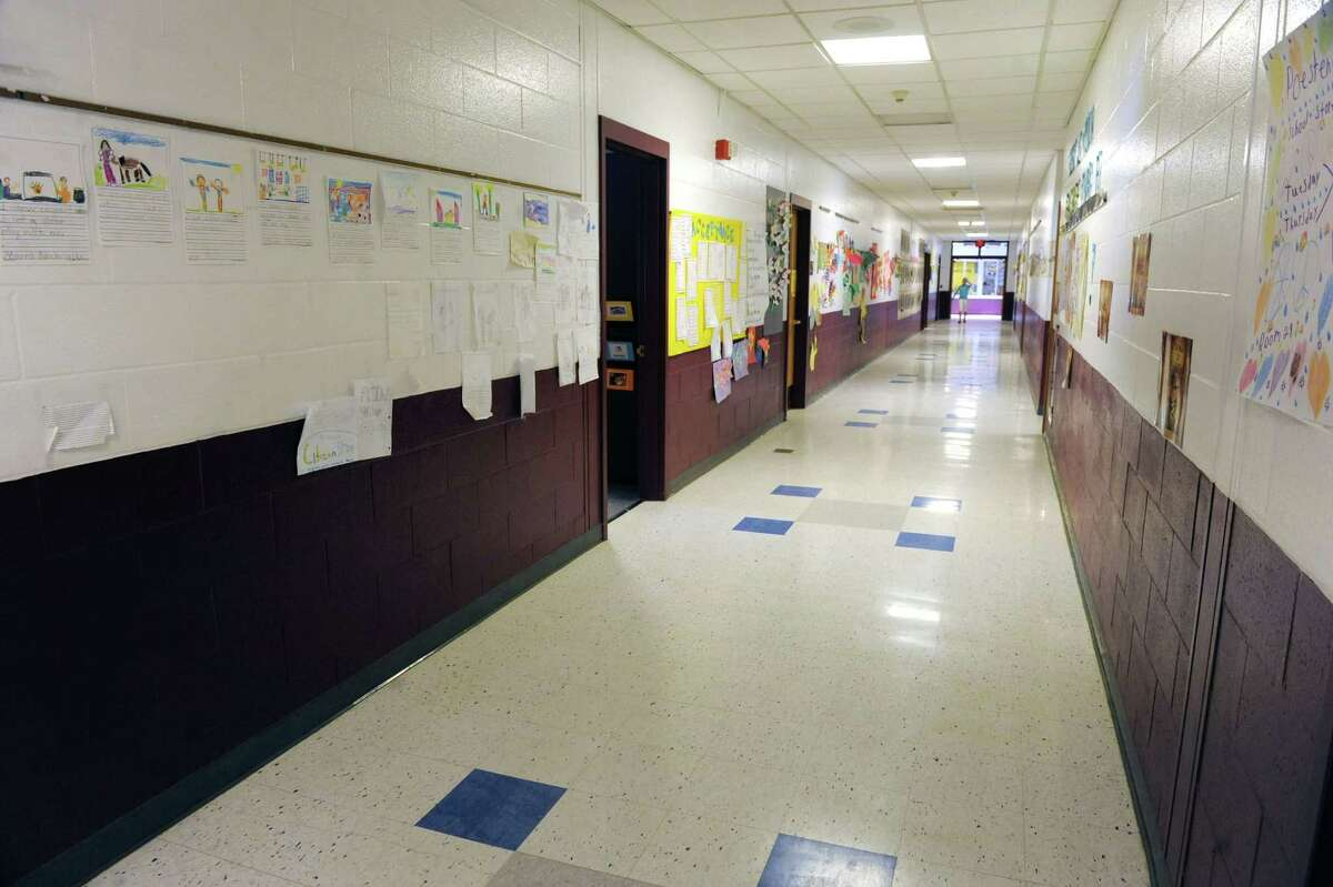 A hallway in Poestenkill Elementary School on Wednesday, June 5, 2013 in Poestenkill, N.Y. Principal Peter DeWitt talked to us about field tests given to New York's students on behalf of the Pearson testing company. (Lori Van Buren / Times Union)