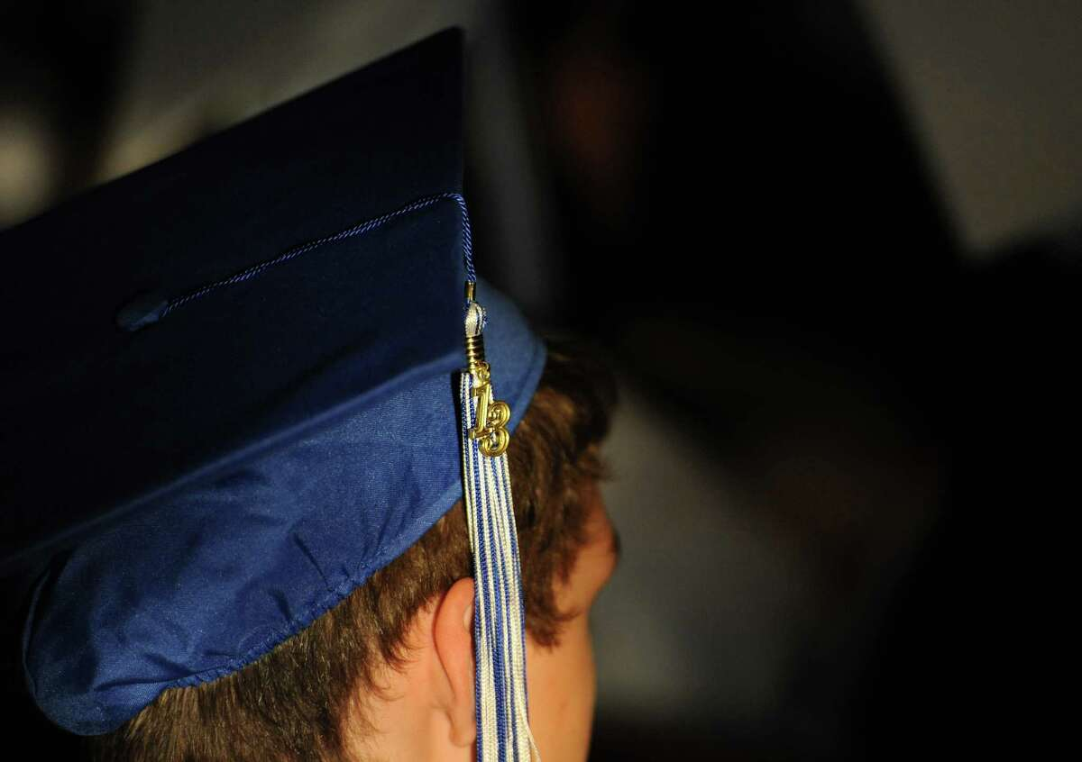 Immaculate High School graduated 69 students at St. Mary's Church in Bethel, Conn. on Wednesday, June 5, 2013.