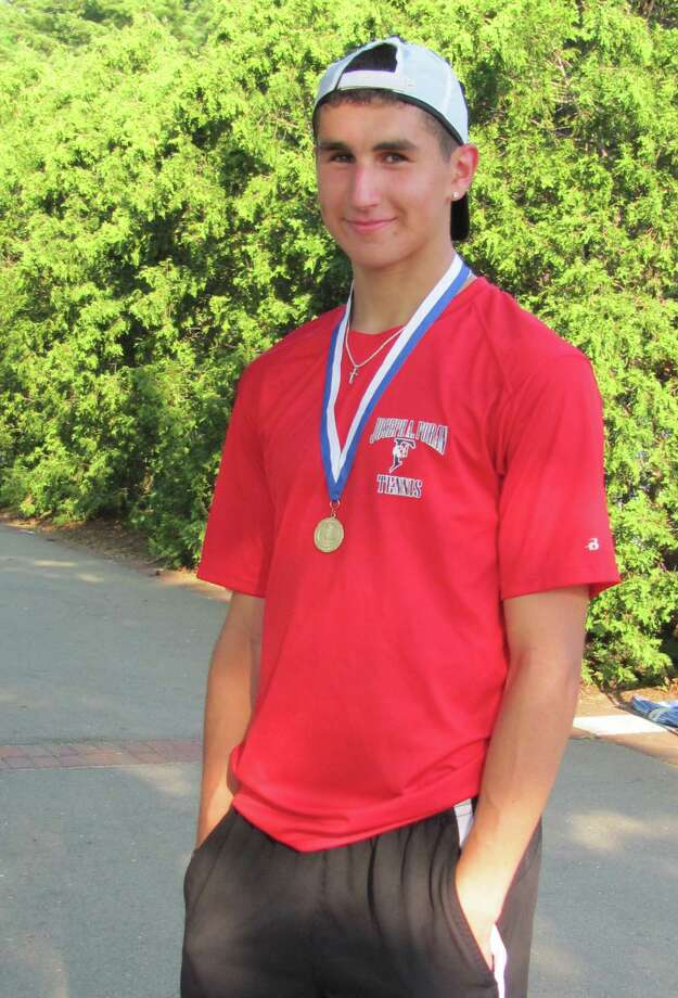 Bradley Orban, Foran High School boys tennis Photo: Contributed Photo / Connecticut Post Contributed