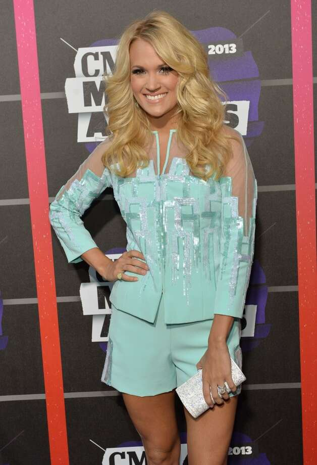 NASHVILLE, TN - JUNE 05:  Carrie Underwood attends the 2013 CMT Music awards at the Bridgestone Arena on June 5, 2013 in Nashville, Tennessee.  (Photo by Rick Diamond/Getty Images)