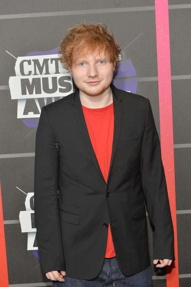 NASHVILLE, TN - JUNE 05:  Ed Sheeran attends the 2013 CMT Music awards at the Bridgestone Arena on June 5, 2013 in Nashville, Tennessee.  (Photo by Rick Diamond/Getty Images)