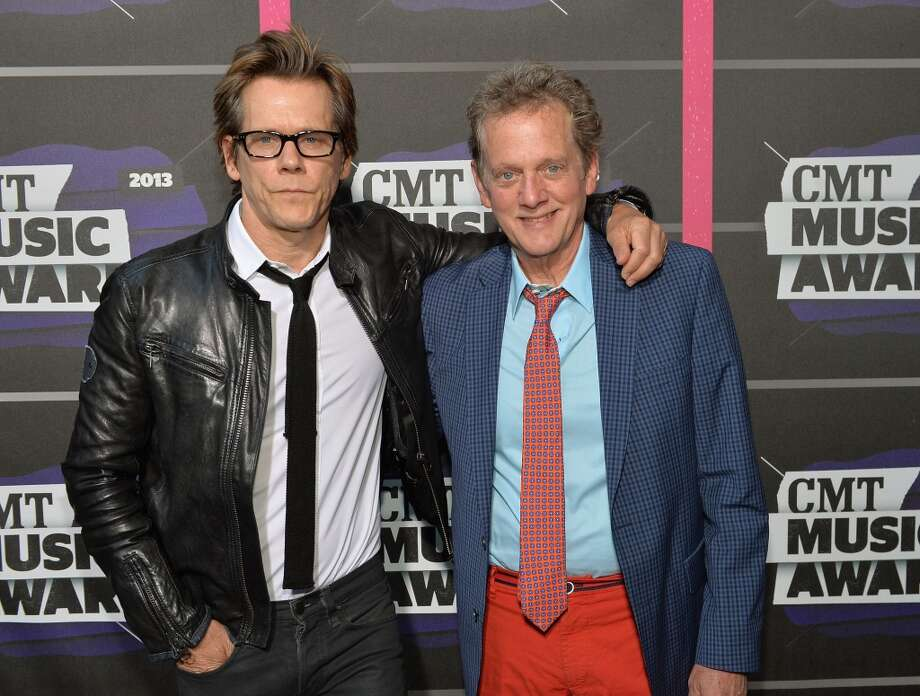 NASHVILLE, TN - JUNE 05:  The Bacon Brothers Kevin Bacon (L) and Michael Bacon attend the 2013 CMT Music awards at the Bridgestone Arena on June 5, 2013 in Nashville, Tennessee.  (Photo by Rick Diamond/Getty Images)