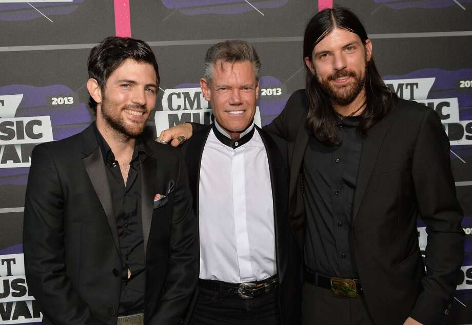 NASHVILLE, TN - JUNE 05:  Scott Avett, Randy Travis and Seth Avett attend the 2013 CMT Music awards at the Bridgestone Arena on June 5, 2013 in Nashville, Tennessee.  (Photo by Rick Diamond/Getty Images)