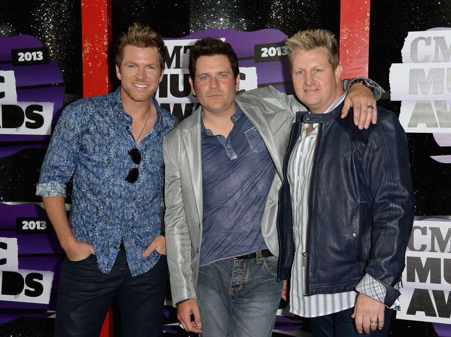 NASHVILLE, TN - JUNE 05:  (L-R) Musicians Joe Don Rooney, Jay DeMarcus and Gary LeVox of Rascal Flatts attend the 2013 CMT Music awards at the Bridgestone Arena on June 5, 2013 in Nashville, Tennessee.  (Photo by Jason Merritt/Getty Images)