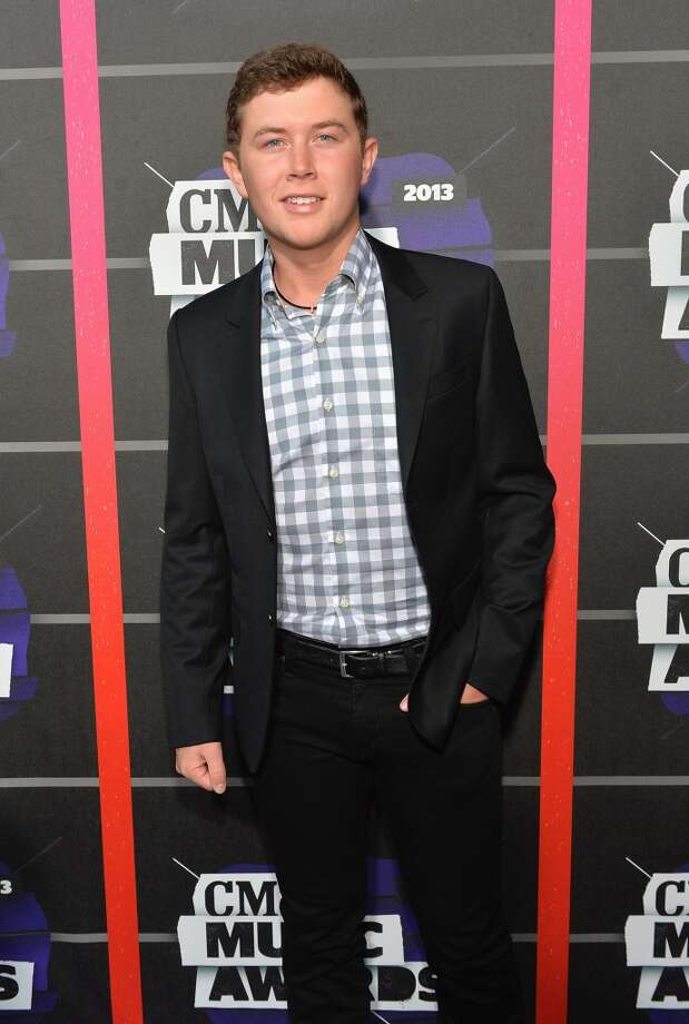 NASHVILLE, TN - JUNE 05:  Singer Scotty McCreery attends the 2013 CMT Music awards at the Bridgestone Arena on June 5, 2013 in Nashville, Tennessee.  (Photo by Rick Diamond/Getty Images)