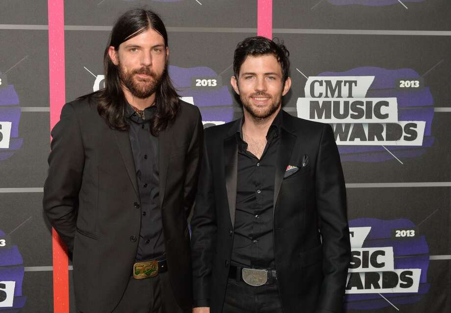 NASHVILLE, TN - JUNE 05:  Seth Avett and Scott Avett of The Avett Brothers attend the 2013 CMT Music awards at the Bridgestone Arena on June 5, 2013 in Nashville, Tennessee.  (Photo by Rick Diamond/Getty Images)
