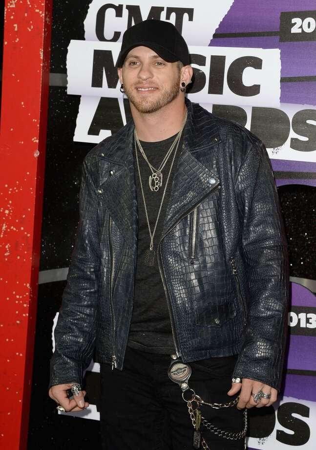 NASHVILLE, TN - JUNE 05:  Singer Brantley Gilbert attends the 2013 CMT Music awards at the Bridgestone Arena on June 5, 2013 in Nashville, Tennessee.  (Photo by Jason Merritt/Getty Images)