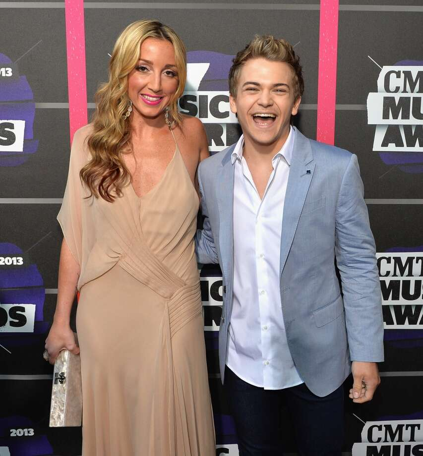 NASHVILLE, TN - JUNE 05:  Ashley Monroe and Hunter Hayes attend the 2013 CMT Music awards at the Bridgestone Arena on June 5, 2013 in Nashville, Tennessee.  (Photo by Rick Diamond/Getty Images)