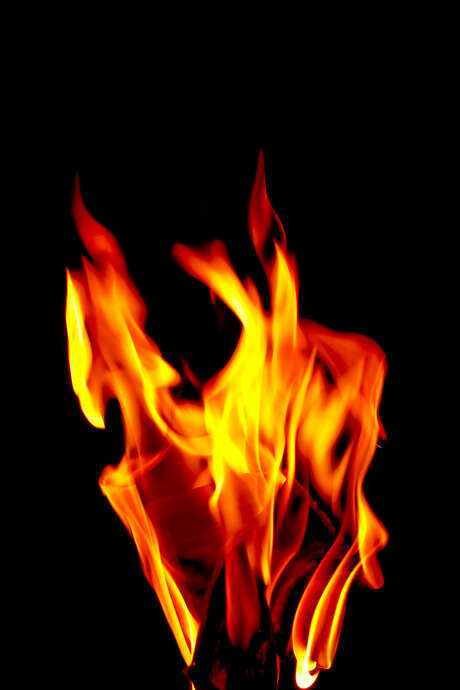 Fire on a black background. Flames Photo: Alexander Marushin / handout / stock agency