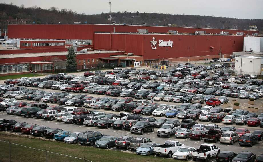 No. 6: Stratford69.1 percent of 16 to 24 year olds here drive themselves to work, which is 16.7 percent less than the percent of 45 to 54 year olds who do the same.    A file photo from earlier this year shows hundreds of employee cars in the parking lots at Sikorsky in Stratford, Conn.  Fox 5 New York reported  that alleged would-be terror bomber Faisal Shahzad told interrogators that had his attempted car bombing been a success, he had his sights set on those four additional targets including Connecticut defense contractor Sikorsky. Based in Stratford, Conn., Sikorsky also has facilities in Bridgeport and Shelton, Conn. ó two towns where real estate records showed Shahzad lived during the past five years. Photo: Brian A. Pounds, ST