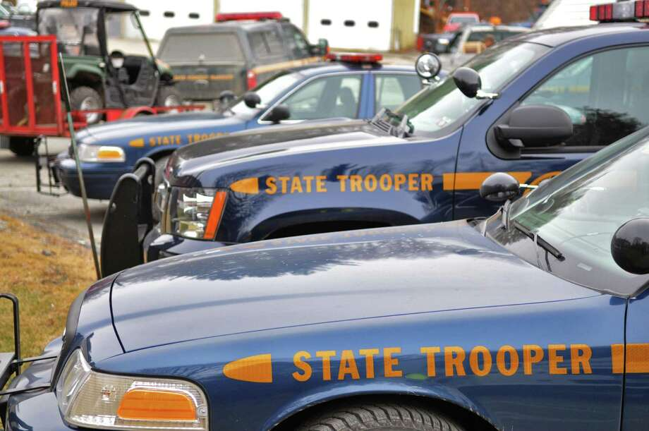 State police vehicles. (John Carl D'Annibale / Times Union arhive) Photo: John Carl D'Annibale