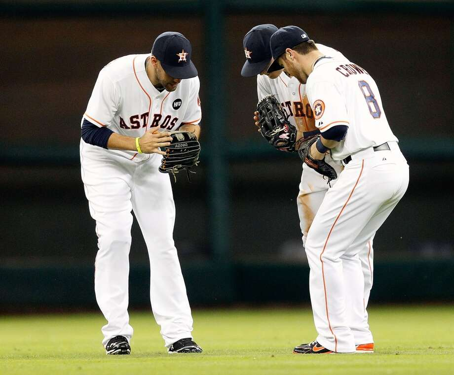 June 5: Astros 11, Orioles 7 The Astros went yard six times and held off a late rally by the Orioles to take the second game of the three-game set in Houston.  Record: 22-38. Photo: Bob Levey, Getty Images