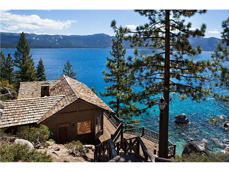 The estate former owned by Howard Hughes is for sale for $19.5 million. The Nevada home comes with five bedrooms, four bathrooms and a view of Lake Tahoe.