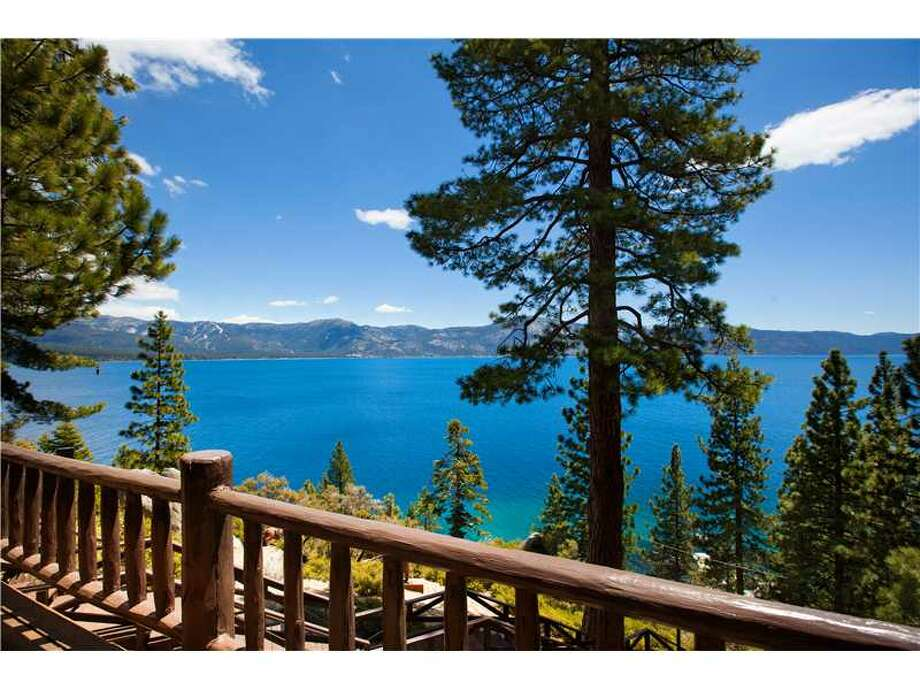 The estate former owned by Howard Hughes is for sale for $19.5 million. The Nevada home comes with five bedrooms, four bathrooms and a view of  Lake Tahoe. Photo: Chase International