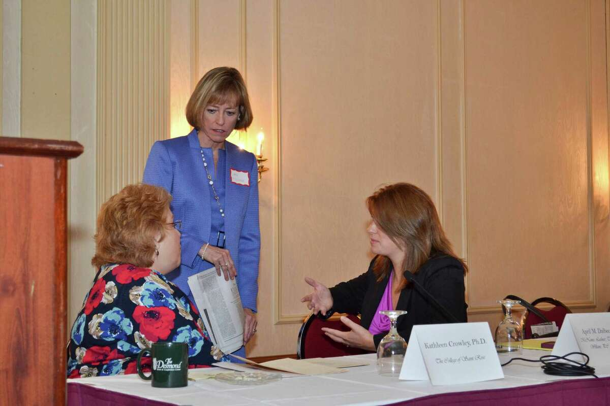 Were you Seen at the Women@Work breakfast event, The Mother Load, sponsored by McNamee, Lochner, Titus & Williams, P.C. at The Desmond on Thursday, June 6, 2013?