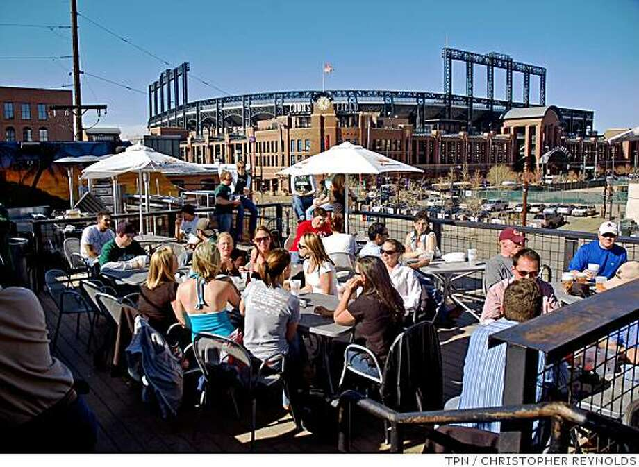 """3. Denver, score of 66.8. NerdWallet writes: """"Denver has a great and affordable social life for recent college  graduates, boasting the most bars per capita and a low cost of living.  This laid-back city has a moderate unemployment rate, making it easier  to find a job here than most other cities, and Denver's residents have  easy access to mountains and nature just a few hours' drive away.  Denver's top industries are aerospace, broadcasting and  telecommunications, energy and healthcare."""" Photo: CHRISTOPHER REYNOLDS, TPN"""
