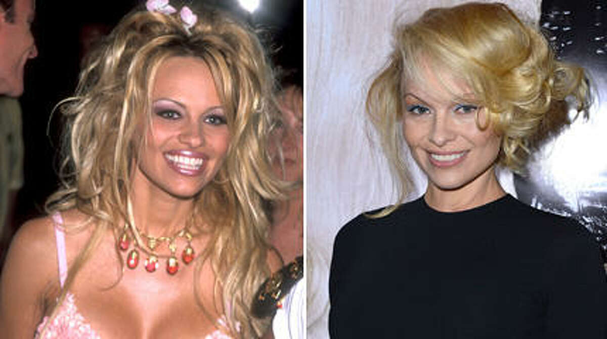 Pamela Anderson recently debuted a dramatically different look and told Buzzfeed that she's not sure if she ''ever really felt beautiful.'' Here's a look at the former ''Baywatch'' star through the years.