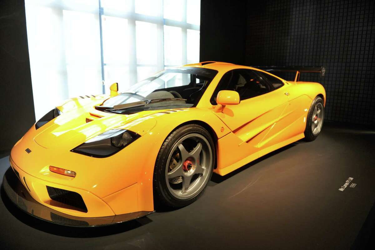 14. In 1998, the McLaren F1 became the fastest car in the world, topping out at 243 mph. It has since been surpassed by the Bugatti Veyron, but the F1 is still the fastest car with a naturally aspirated engine. It's not a great date car, though: The driver sits front and center, with passengers on either side and slightly to the rear. Photo: Getty Images