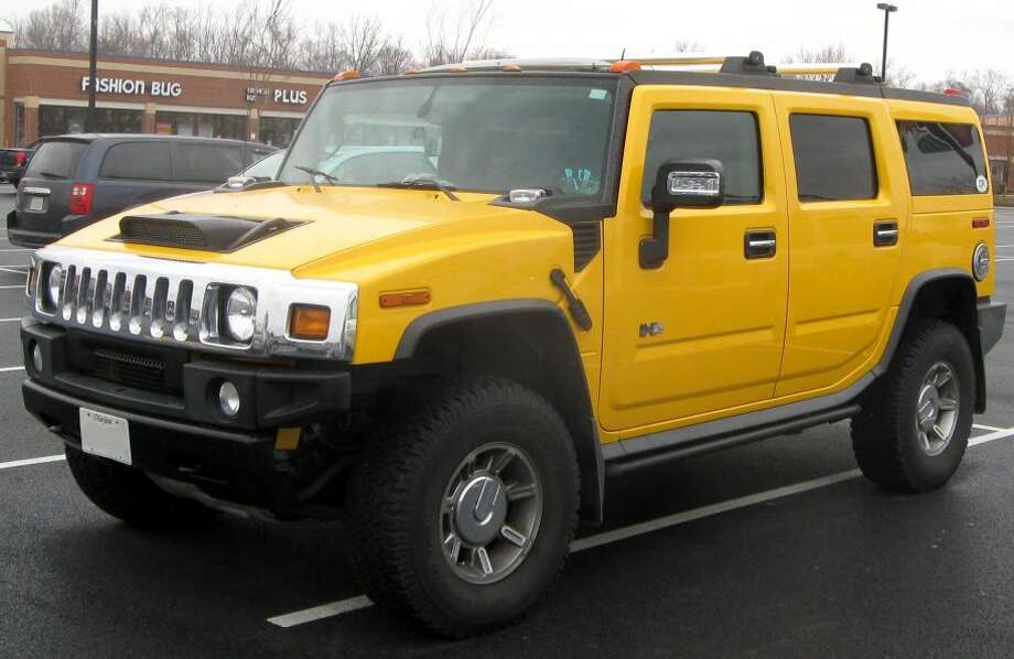 50 sexiest cars of the past 100 years50. A rather hefty ride, the Hummer H2 has none of the sleek characteristics that often note a sexy car. Its appealing, brawny look marked the heyday of the big American SUV.Photo: Wikimedia Commons Photo: File