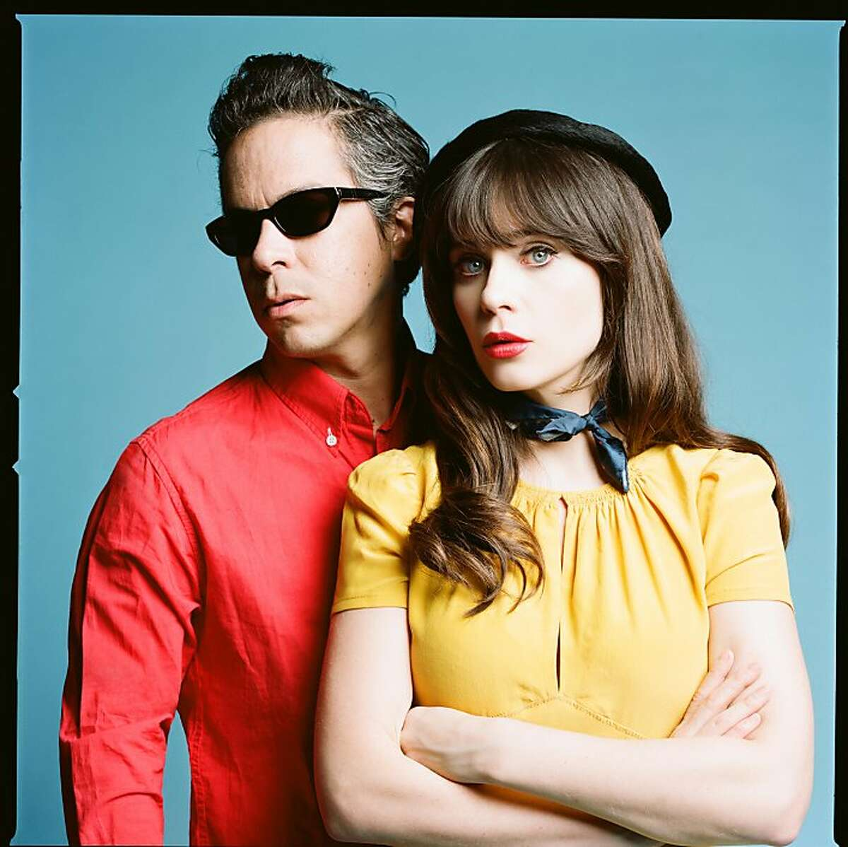She and Him: M Ward and Zooey Deschanel.