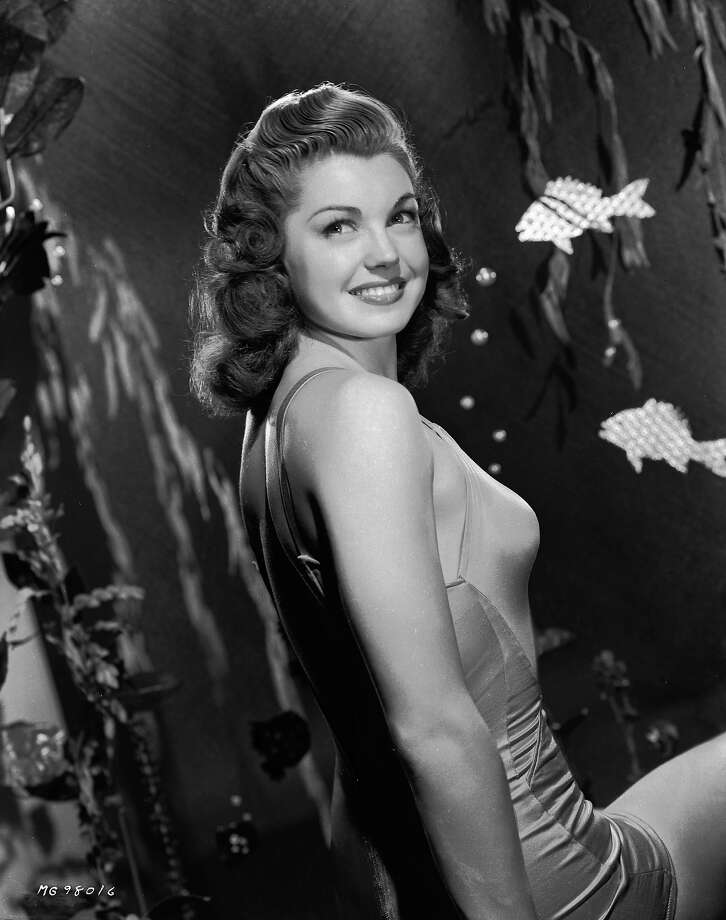 Former swimming champion and Hollywood film star, Esther Williams, in 1944. Photo: Eric Carpenter, Getty Images / Moviepix