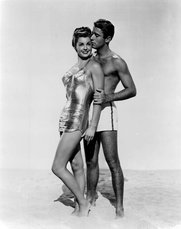 Esther Williams and Peter Lawford in publicity portrait for the film 'On An Island With You', 1948. Photo: Archive Photos, Getty Images / 2012 Getty Images
