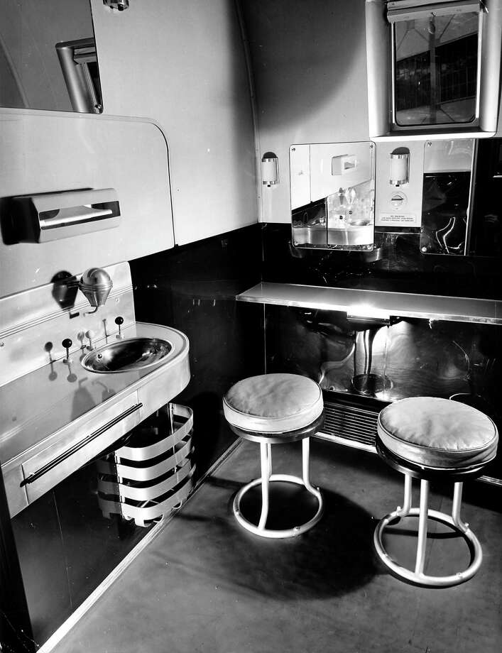 The clipper also had dressing rooms and a