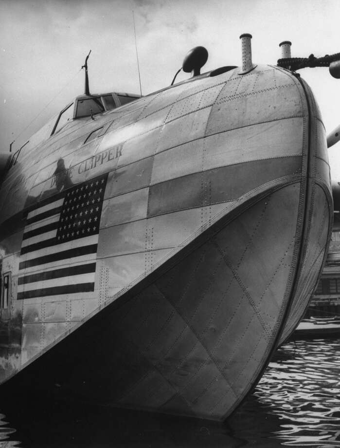 "Boeing's written history of the Clipper says: ""As airplane travel became popular during the mid-1930s, passengers wanted to fly across the ocean, so Pan American Airlines asked for a long-range, four-engine flying boat."" Photo: George Strock, Time & Life Pictures/Getty Image / Time Life Pictures"