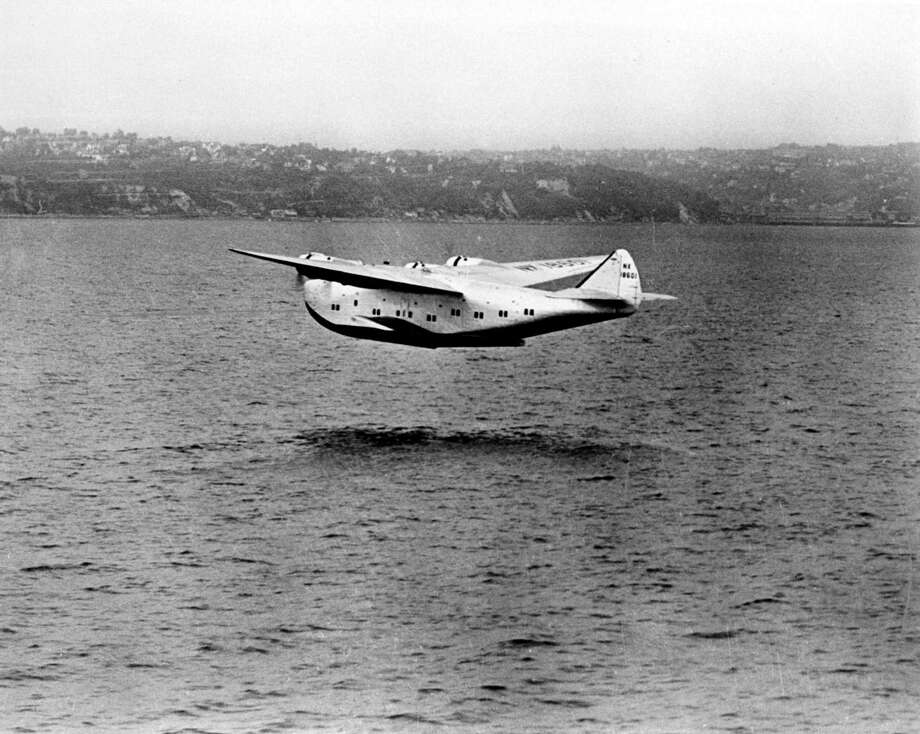 "Boeing's Model 314 first flew 75 years ago Friday, on June 7, 1938. Click on for more about the ""Clipper,"" which was nicknamed after the great oceangoing sailing ships. Photo: Time Life Pictures, Time & Life Pictures/Getty Image / Time Life Pictures"