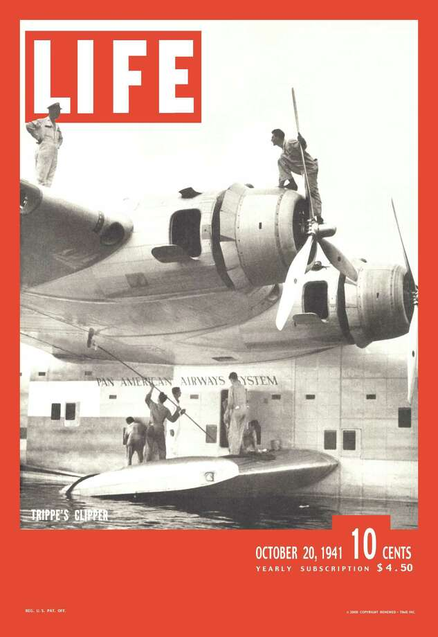 LIFE magazine featured a Pan Am Clipper on the cover of its Oct. 20, 1941 issue. Photo: George Strock, Time & Life Pictures/Getty Image / Time Life Pictures