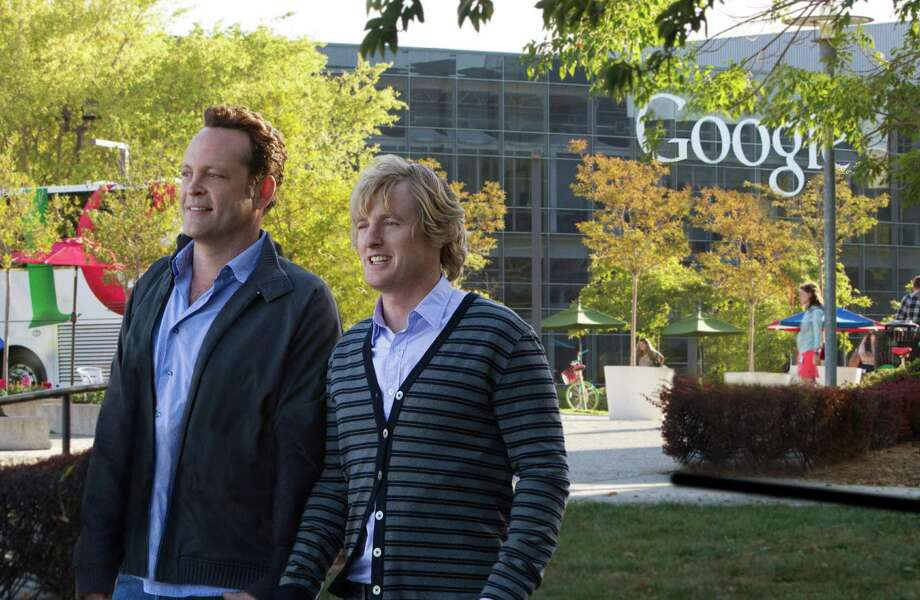 "This film publicity image released by 20th Century Fox shows Owen Wilson, right, and Vince Vaughn in a scene from ""The Internship."" (AP Photo/20th Century Fox, Phil Bray) Photo: Phil Bray"
