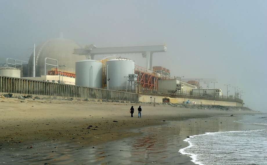 Southern California Edison has decided to close the San Onofre Nuclear Generating Station for good. It was shut down last year after one of its reactor units leaked some radioactive steam. Photo: Mark Ralston, AFP/Getty Images