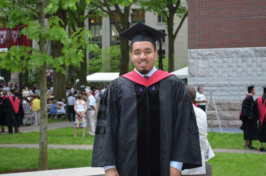 Cortlan Wickliff. Last week, he became only one of only two African-American men to graduate from Harvard Law School at the age of 22. Later this year, he's headed to Texas A&M to start on his doctorate in engineering. Photo: --