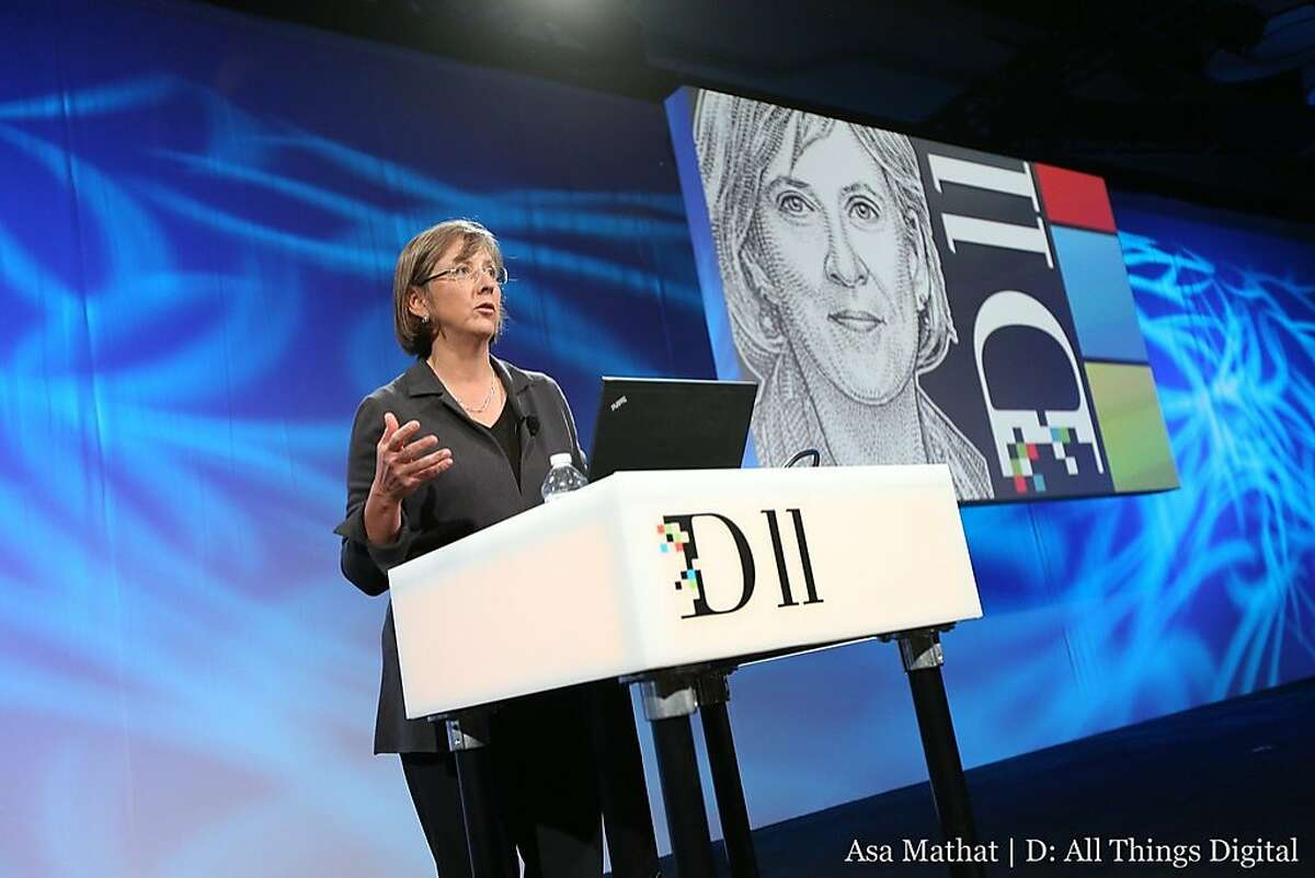 Kleiner Perkins Caufield & Byers partner Mary Meeker presents her annual Internet Trends Report at D: All Things Digital conference in Rancho Palos Verdes on May 29.