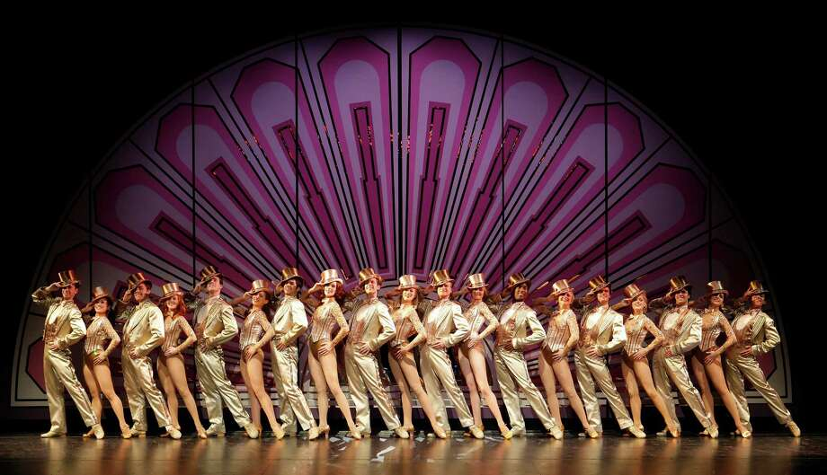 "Every revival of ""A Chorus Line,"" such as this 2008 national tour, features a stirring rendition of ""One."" See it for free July 16-21at  Miller Outdoor Theatre. Photo: Paul Kolnik / handout"