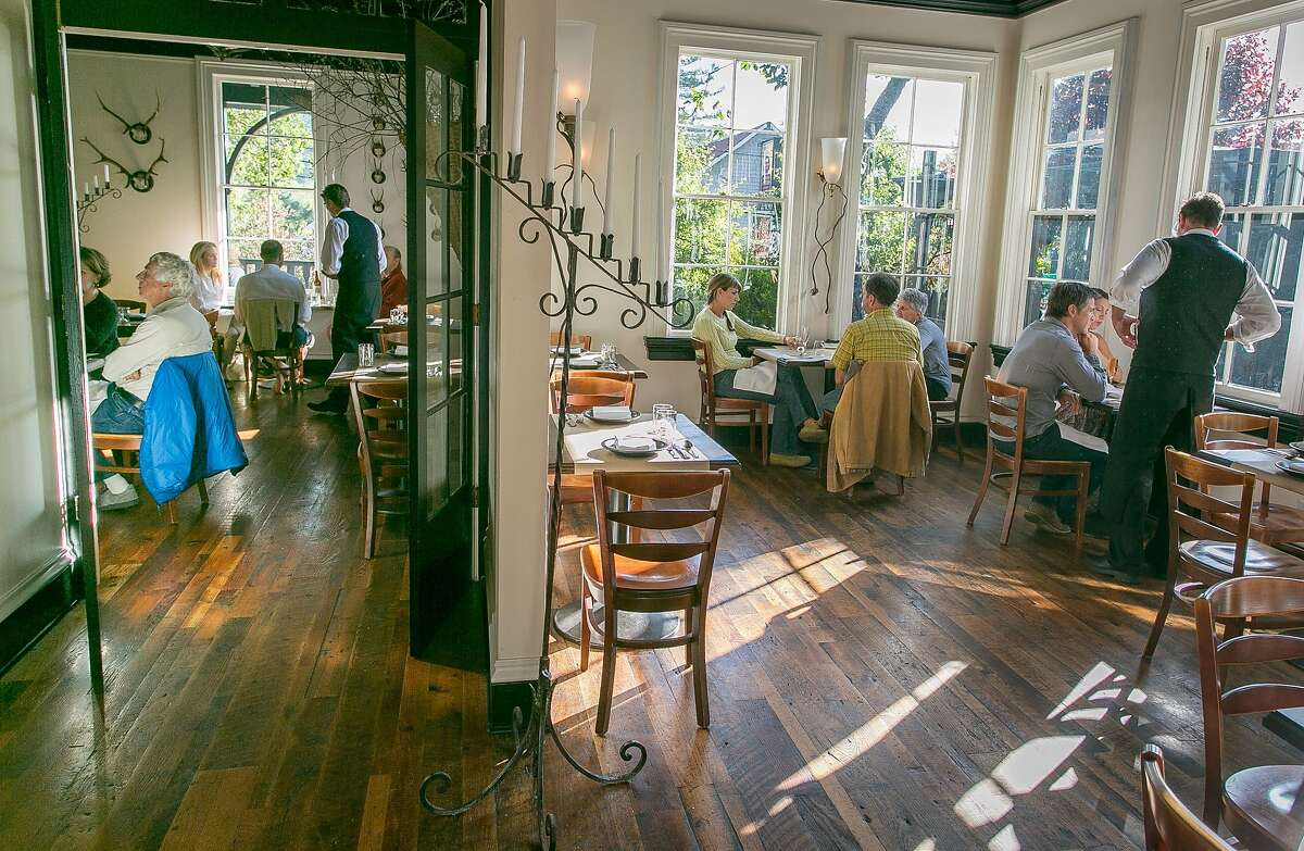 The side and main and main dining room at Sir and Star in Olema, Calif., is seen on Friday, May 31st, 2013.