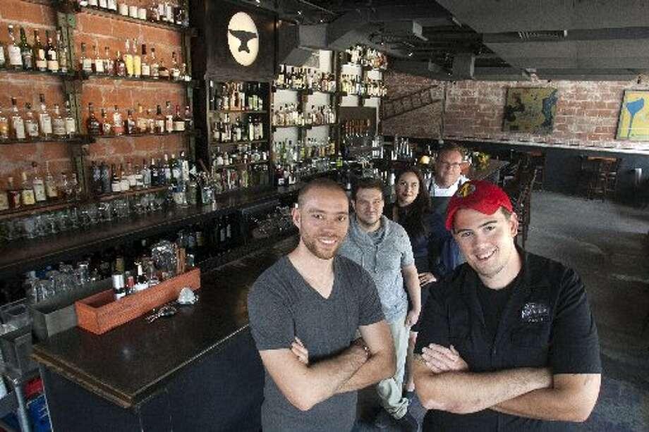 The bar at Anvil. Photo: Chron File