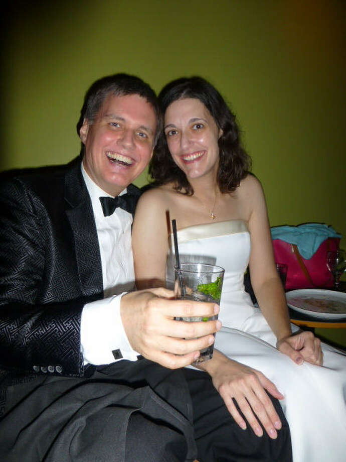 Barry and Catherine Brake celebrate in high style the centennial of the birth of modernism at The Riot of Spring party at Silo in Alamo Heights.