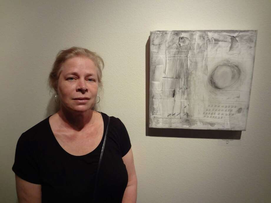 San Antonio artist Jane Dunnewold is showing new work at Radius Gallery. Photo: Photos By Steve Bennett / San Antonio Express-News